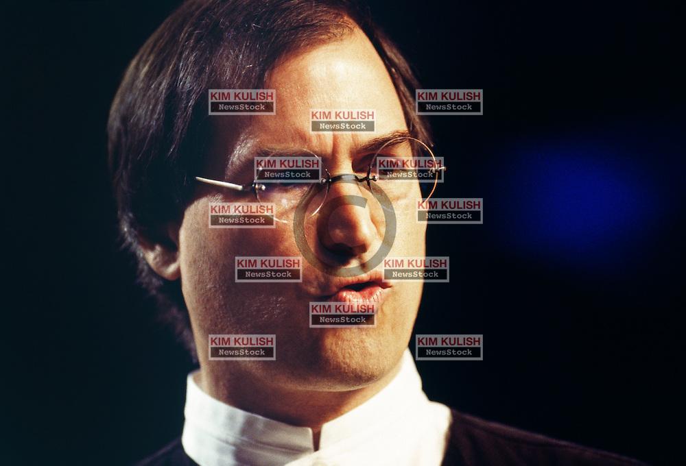 San Francisco - Macworld Expo - keynote speech. Steve Jobs