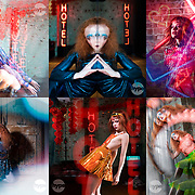 A dystopian, sci fi styled fashion shoot, photographed by photographer Stuart Freeman from Hype photography.