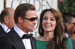 Angelina Jolie and Brad Pitt arriving for the 68th Annual Golden Globe Awards ceremony, held at the Beverly Hilton Hotel in Los Angeles, CA, USA on January 16, 2011. Photo by Lionel Hahn/ABACAUSA.COM