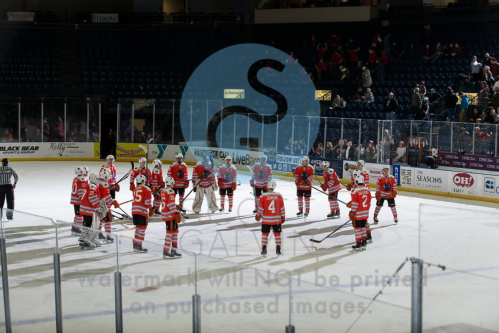 Youngstown Phantoms win 5-3 against the Tri-City Storm at the Covelli Centre on January 18, 2020.