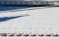 Shooting during Men 15 km Mass Start at day 4 of IBU Biathlon World Cup 2015/16 Pokljuka, on December 20, 2015 in Rudno polje, Pokljuka, Slovenia. Photo by Urban Urbanc / Sportida