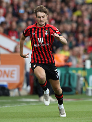 File photo dated 31-07-2021 of AFC Bournemouth's David Brooks during the Carabao Cup first round match at the Vitality Stadium, Bournemouth. Bournemouth and Wales winger David Brooks has announced that he has been diagnosed with stage two Hodgkin lymphoma. Issue date: Wednesday October 13, 2021.