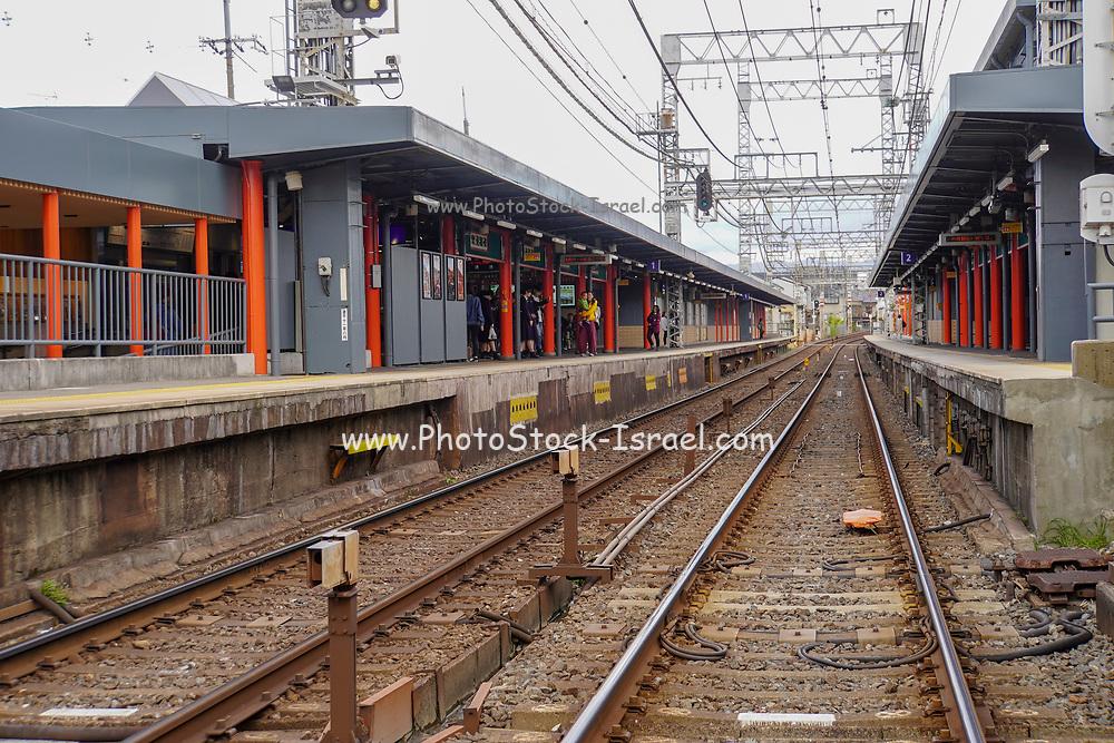 Kyoto, Japan Train station
