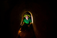 The tunnels of Củ Chi are an immense network of connecting underground tunnels located in the Củ Chi District, north of Ho Chi Minh City (Saigon), Vietnam, and are part of a much larger network of tunnels that underlie much of the country. The Củ Chi tunnels were the location of several military campaigns during the Vietnam War, and were the Viet Cong's base of operations for the Tết Offensive in 1968.