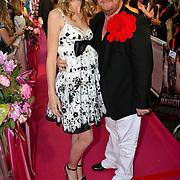 NLD/Amsterdam/20080610 - Premiere Sex and the City, winnares Holland next topmodel 2008 Ananda Marchildon en Bastiaan van Schaik