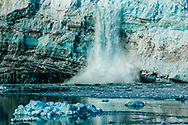 Even more close up photography shows the impressiveness of the natural wonders of Alaska when you capture an image of a calving glacier.