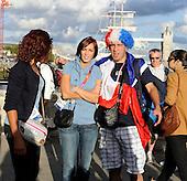 20120806 France Handball Femme Jeux Olympiques Arrive Club France Tower Bridge