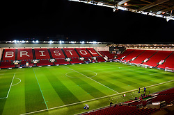 A general view of Ashton Gate before the Carabao cup against Manchester United - Mandatory by-line: Dougie Allward/JMP - 20/12/2017 - FOOTBALL - Ashton Gate Stadium - Bristol, England - Bristol City v Manchester United - Carabao Cup Quarter Final