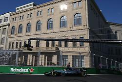 June 23, 2017 - Baku, Azerbaijan - Motorsports: FIA Formula One World Championship 2017, Grand Prix of Europe, .#44 Lewis Hamilton (GBR, Mercedes AMG Petronas F1 Team) (Credit Image: © Hoch Zwei via ZUMA Wire)