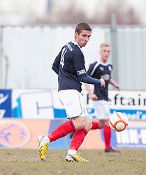 Falkirk's Luke Leahy..Falkirk 4 v 0 Cowdenbeath, 6/4/2013..©Michael Schofield..