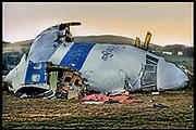 "The Cockpit of Clipper Maid of the Seas, Lockerbie, Scotland - ""Flight 103"" NEW YORK TIMES MAGAZINE (USA)"