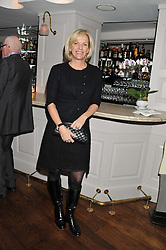 ELISABETH MURDOCH at Shepherd's Delight an evening of Dinner & Entertainment in aid of The National Youth Theatre of Great Britain held at Shepherd's, Marsham Street, London on3rd December 2012.