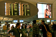 Leonardo da Vinci-Fiumicino Airport, Rome, Italy