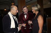 Bertie Fairbairn ( ?) Clarence Pycroft, ( ?) and Gail Watkins. Olga Polizzi and Rocco Forte host a party to celebrate the re-opening of Brown's Hotel  after a  £19 million renovation. Albermarle St. London. 12 December 2005. ONE TIME USE ONLY - DO NOT ARCHIVE  © Copyright Photograph by Dafydd Jones 66 Stockwell Park Rd. London SW9 0DA Tel 020 7733 0108 www.dafjones.com