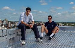 03-10-2002 ARG: World Championships Rest Day, Santa Fe<br /> Robert Horstink, Dennis van der Veen<br /> WORLD CHAMPIONSHIP VOLLEYBALL 2002 ARGENTINA<br /> SANTA FE / 03-10-2002