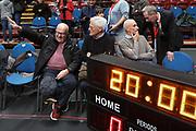 Bucci Alberto, Zanetti Massimo, Baraldi Luca e Bezzecchi Maurizio, EA7 Emporio Armani Milano vs Virtus Segafredo Bologna - 6 giornata Campionato LBA 2017/2018, Mediolanum Forum 5 novembre 2017 - foto Bertani/Ciamillo-Castoria