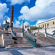 Plaza del quinto centenario.San Juan, Puerto Rico