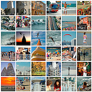36 image Collage of Tel Aviv, Israel