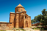 10th century Armenian Orthodox Cathedral of the Holy Cross on Akdamar Island, Lake Van Turkey 79 .<br /> <br /> If you prefer to buy from our ALAMY PHOTO LIBRARY  Collection visit : https://www.alamy.com/portfolio/paul-williams-funkystock/lakevanturkey.html<br /> <br /> Visit our TURKEY PHOTO COLLECTIONS for more photos to download or buy as wall art prints https://funkystock.photoshelter.com/gallery-collection/3f-Pictures-of-Turkey-Turkey-Photos-Images-Fotos/C0000U.hJWkZxAbg