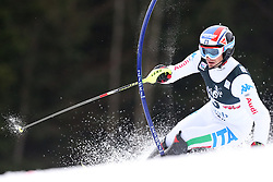 06.01.2013, Crveni Spust, Zagreb, CRO, FIS Ski Alpin Weltcup, Slalom, Herren, 1. Lauf, im Bild Manfred Moelgg (ITA) // Manfred Moelgg of Italy in action // during 1st Run of the mens Slalom of the FIS ski alpine world cup at Crveni Spust course in Zagreb, Croatia on 2013/01/06. EXPA Pictures © 2013, PhotoCredit: EXPA/ Pixsell/ Sanjin Strukic..***** ATTENTION - for AUT, SLO, SUI, ITA, FRA only *****