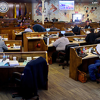 The Navajo Nation Council meets for regular session Tuesday in Window Rock.