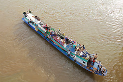 Support Boat at Cambodia's Water Festival