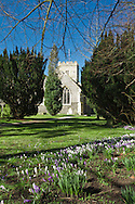 St Andrew's Church in Sonning on Thames, Berkshire, Uk