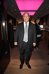 SIR PHILIP GREEN at the Krug Mindshare Charity Auction held at Christie's, 8 King Street, London SW1 on November 2009.