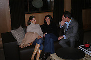 Dawn Laren, Gina Bellman and Tim Jefferies. Candy & Candy. Apartment launch party Fifth Floor, 17-22 Trevor Square Tim Jefferies<br />hosts reception previewing property designers latest apartment in Knightsbridge. 18 January 2005 ONE TIME USE ONLY - DO NOT ARCHIVE  © Copyright Photograph by Dafydd Jones 66 Stockwell Park Rd. London SW9 0DA Tel 020 7733 0108 www.dafjones.com