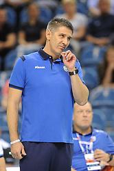 during the European Championship game Russia - Slovenia on August 26, 2017 in Krakow, Poland. (Photo by Krzysztof Porebski / Press Focus)