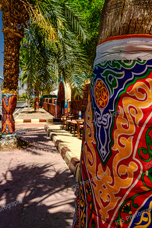 Ramadan decorations at the Tuya Hotel in Abu Simbel