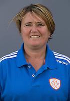 UTRECHT - Bondscoach Alyson Annan.  Jong Oranje meisjes -21 voor EK 2014 in Belgie (Waterloo). COPYRIGHT KOEN SUYK