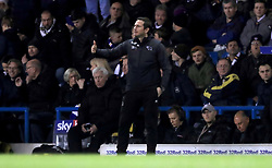 Derby County manager Frank Lampard gestures on the touchline during the Sky Bet Championship match at Elland Road, Leeds.