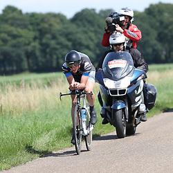 EMMEN (NED wielrennen <br /> Tijdrit Topcompetitie Emmen Jim Lindenburg