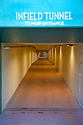 Santa Anita Park Infield Tunnel to Main Entrance