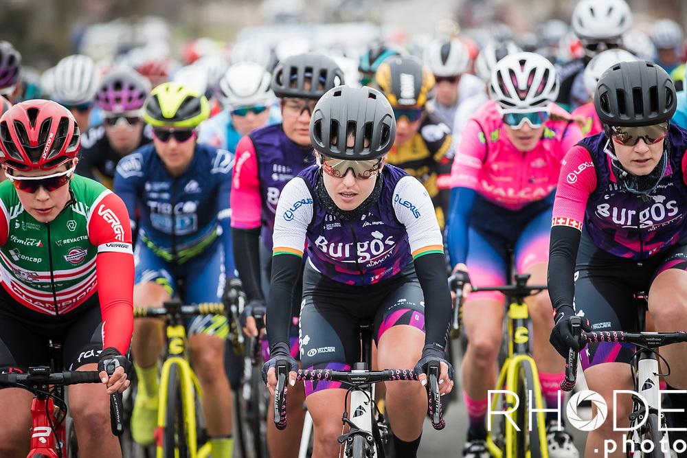 Anti Christoforou (CYP/Women Cycling Team)<br /> <br /> 13th Women's Omloop Het Nieuwsblad 2021 <br /> 1 Day Race: Gent – Ninove 124km<br /> <br /> ©Rhode.Photo