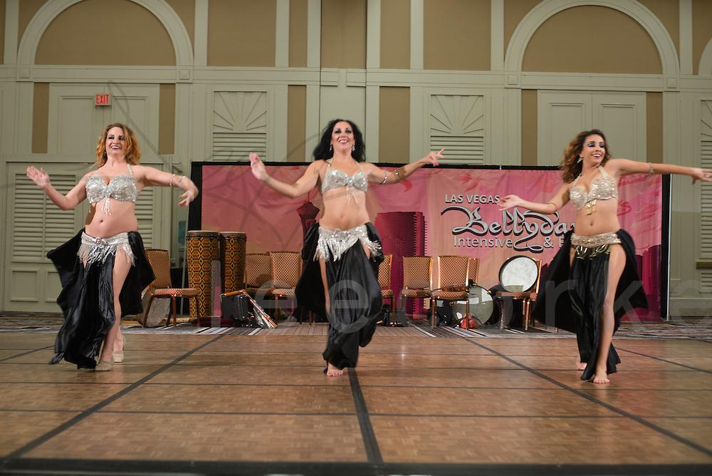 A dance performance at the 2014 Las Vegas Bellydance Intensive