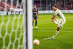 27-09-2018 NED: FC Utrecht - MVV Maastricht, Utrecht<br /> Cyriel Dessers #11 of FC Utrecht scoort de 1-0 uit een penalty