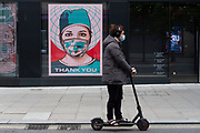 Mcc0095309 . Daily Telegraph<br /> <br /> <br /> DT News<br /> <br /> Stock<br /> <br /> Oxford Street<br /> <br /> Quiet streets in London's West End as the government tries to get the UK's economy moving again .<br /> <br /> <br /> London 15 May 2020