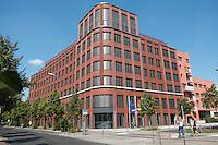 15 AUG 2009, BERLIN/GERMANY:<br /> Gebaeude der Friedrich-Ebert-Stiftung, Hiroshimastrasse 28 / Ecke Reichspietschufer<br /> IMAGE: 20090815-01-002<br /> KEYWORDS: Gebäude, Haus, Buerohaus, Bürohaus