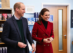 The Duke and Duchess of Cambridge during a visit to Halen Mon Anglesey Sea Salt, a thriving local business which has been operating for over two decades, as part of their visit to North Wales.
