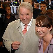 NLD/Amsterdam/20070507 - Premiere Interview, Jan Haasbroek en dochter Charlotte