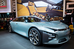 New Citroen CXperience large saloon concept at Paris Motor Show 2016