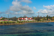 The Presidential Palace in Tonga, also known as the Royal Palace.