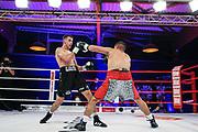 Boxen: Universum Fightnight, Superweltergewicht, Hamburg, 14.11.2020<br /> Ali Dohier (GER) - Pablo Mendoza (ESP)<br /> © Torsten Helmke
