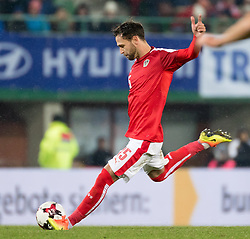 15.11.2016, Ernst Happel Stadion, Wien, AUT, Testspiel, Oesterreich vs Slowakei, im Bild Michael Madl (AUT) //during the International Friendly Football Match between Austria and Slovakia at the Ernst Happel Stadium, Vienna, Austria on 2016/11/15 . EXPA Pictures © 2016, PhotoCredit: EXPA/ Sebastian Pucher