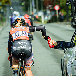 PIETERS Amy ( NED ) – Boels - Dolmans Cycling Team ( DLT ) - NED – Querformat - quer - horizontal - Landscape - Event/Veranstaltung: Liège Bastogne Liège - Category/Kategorie: Cycling - Road Cycling - Elite Women - Elite Men - Location/Ort: Europe – Belgium - Wallonie - Liège - Start: Bastogne-Womens Race - Liège-Mens Race - Finish: Liège - Discipline: Road Cycling - Distance: 257 km - Mens Race - 135 km - Womens Race - Date/Datum: 04.10.2020 – Sunday - Photographer: © Arne Mill - frontalvision.com