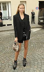 Natasha Poly  bei der Balmain Modenschau während der Paris Fashion Week / 290916<br /> <br /> ***Balmain fashion show as part of Paris Fashion Week on September 29th, 2016 in Paris***