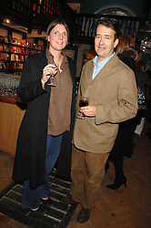 SAM & SAM CLARK at a party to celebrate the publication of The New English Table by Rose Prince held at The Daunt Bookshop, Marylebone High Street, London on 9th April 2007.<br /><br />NON EXCLUSIVE - WORLD RIGHTS