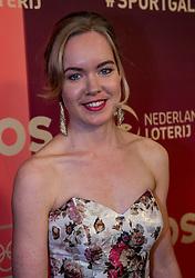 21-12-2016 NED: Sportgala NOC * NSF 2016, Amsterdam<br /> In de Amsterdamse RAI vindt het traditionele NOC NSF Sportgala weer plaats / Anna van den Breggen op de rode loper voor aanvang van het NOC*NSF Sportgala 2016